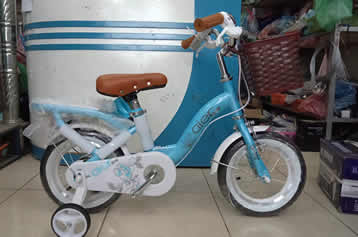 Xe đạp trẻ em Aier giỏ mây size 12
